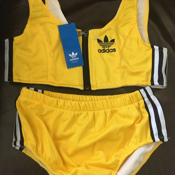 adidas 2 piece swimsuit